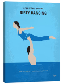 Canvas  No298 My Dirty Dancing minimal movie poster - chungkong