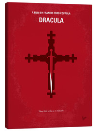 Canvas print  No263 My DRACULA minimal movie poster - chungkong
