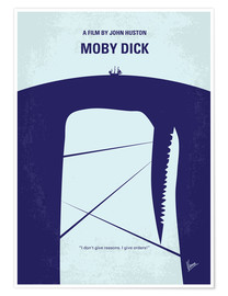 Premium poster Moby Dick