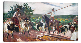 Canvas print  The Enclosure - Joaquin Sorolla y Bastida