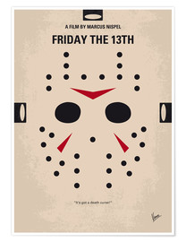 Premium poster Friday The 13th