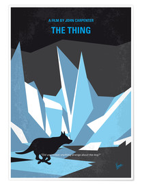 Poster No466 My The Thing minimal movie poster