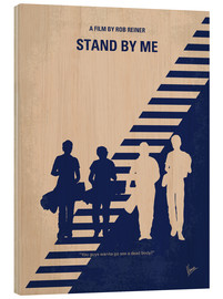 Wood  No429 My Stand by me minimal movie poster - chungkong