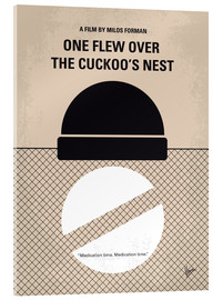 Acrylic print  One Flew Over The Cuckoo's Nest - chungkong