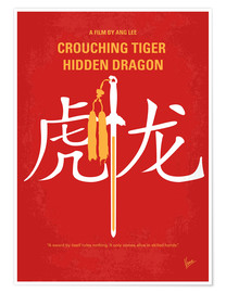 Premium poster Crouching Tiger Hidden Dragon
