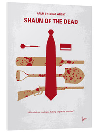 Foam board print  Shaun of the Dead - chungkong