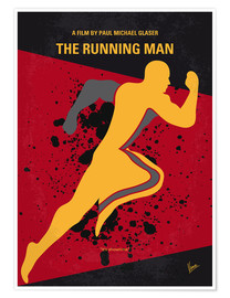 Premium poster The Running Man