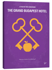 Canvas print  The Grand Budapest Hotel - chungkong