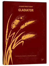 Canvas  No300 My GLADIATOR minimal movie poster - chungkong