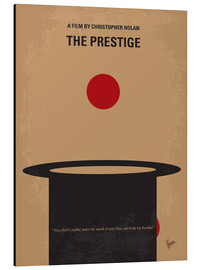 Alu-Dibond  No381 My The Prestige minimal movie poster - chungkong