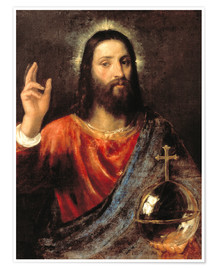Premium poster Christ Salvator