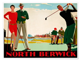 Premium poster  North Berwick Golf Club - Andrew Johnson