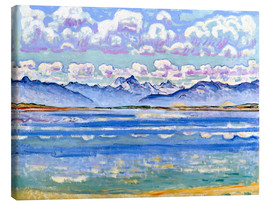 Canvas  Weisshorn seen from Montana from - Ferdinand Hodler