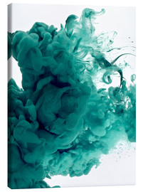 Canvas print  Acrylic colors in water
