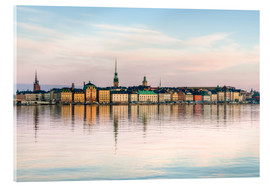 Acrylic print  Stockholm, Sweden, The Old Town (Gamla Stan)