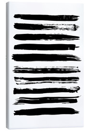 Black lines on white