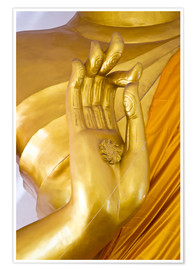 Premium poster golden hand of God