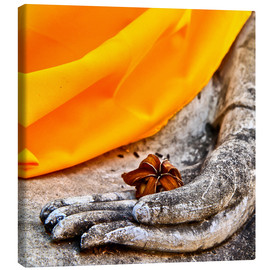 Canvas print  Hand of Buddha