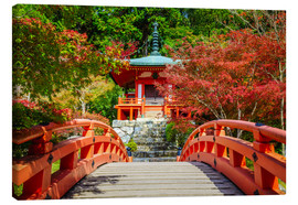 Canvas print  Temple in Kyoto