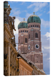 Canvas print  Frauenkirche in Munich