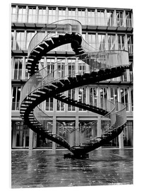 Forex  Endless steel stairway in Munich