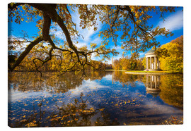 Canvas print  Park of Nymphenburg palace