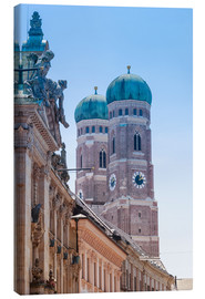 Canvas print  The Frauenkirche in Munich