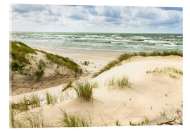 Acrylic print  Sand dunes on the Baltic sea