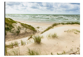 Aluminium print  Sand dunes on the Baltic Sea