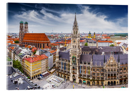 Acrylic print  Munich at its best