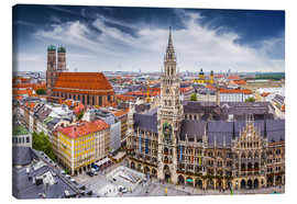 Canvas print  Munich at its best