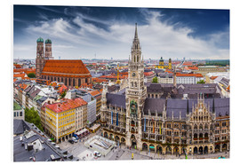 Foam board print  Munich at its best