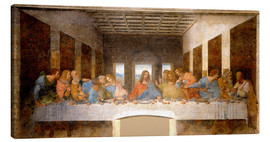 Canvas print  The Last Supper - Leonardo da Vinci