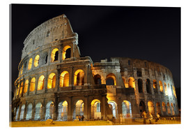 Acrylic print  Colosseum in Rome