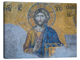 Canvas print  Jesus Christ mosaic