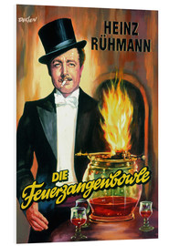 Foam board print  Die Feuerzangenbowle - Entertainment Collection