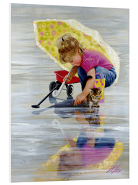 Foam board print  Reflections - Donald Zolan