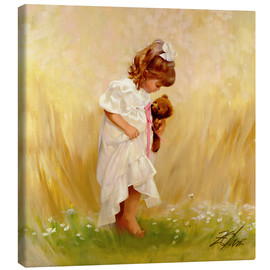 Canvas print  Barefoot in the Grass - Donald Zolan