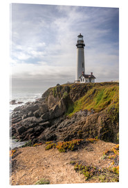 Acrylic print  Pigeon Point Lighthouse