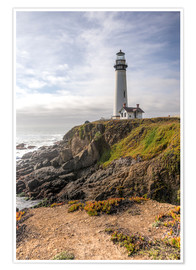 Premium poster  Pigeon Point Lighthouse