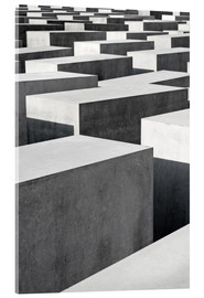 Acrylic print  Holocaust Memorial in Berlin