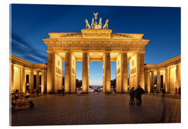 Acrylic print  Brandenburg gate at dusk