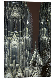 Canvas print  Detail of Cologne Cathedral
