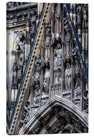 Canvas  Facades detail at Cologne Cathedral