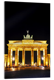 Acrylic print  Brandenburg gate (Brandenburger Tor) in Berlin