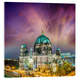 Acrylic print  Berliner Dom - German Cathedral at sunset