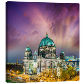 Canvas print  Berliner Dom - German Cathedral at sunset