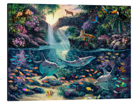 Aluminium print  Jungle Paradise - Steve Read