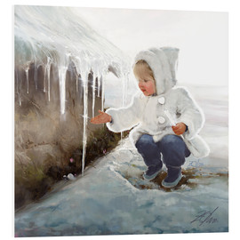 Foam board print  Winter Wonder - Donald Zolan