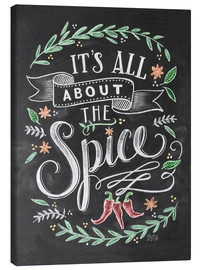 Canvas  It's all about the Spice - Lily & Val
